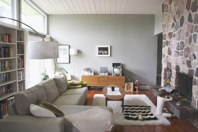 Rooms: Living/dining Room Paint Colour- BEHR Granite Boulder
