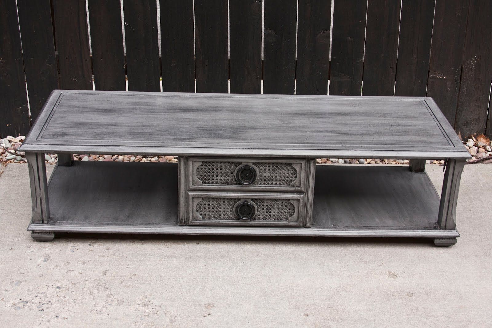 Shabby Chic Coffee Table Color Grey