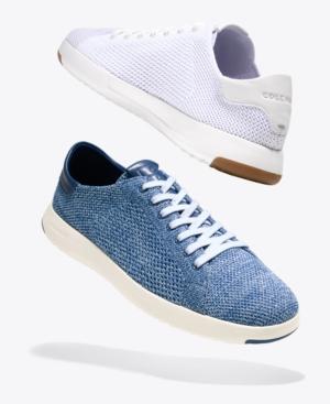33e88655f8 Cole Haan Men's GrandPro Tennis StitchLite Sneakers - White 11 ...