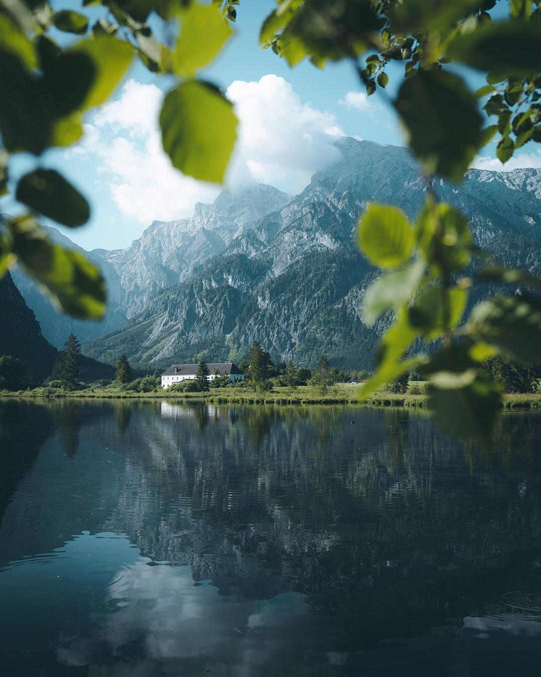 "Manuela Palmberger - Germany 📷 on Instagram: ""Mornings well spend in Austria 🙌 . . . #lake #reflection #reflectionphotography #sunrise #österreich #salzburgerland #austria #visitaustria…"""