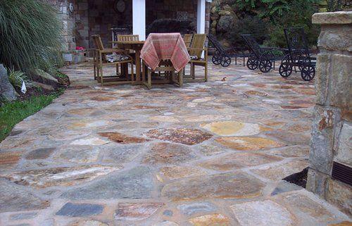 Natural Stone Patio Designs   Garden Patio Design – Patio Paving With Natural Stone