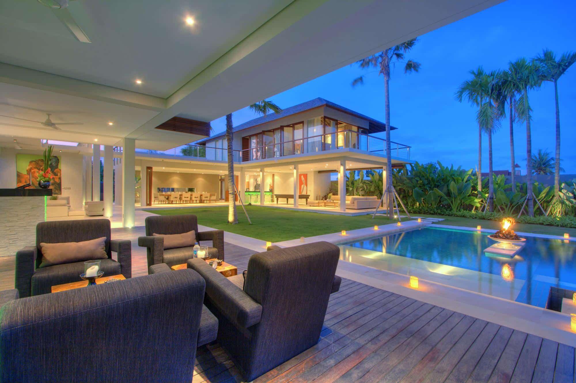Elegant Location De Villa De Luxe à Bali, Architecture Contemporaine #Bali  #architecture #modern