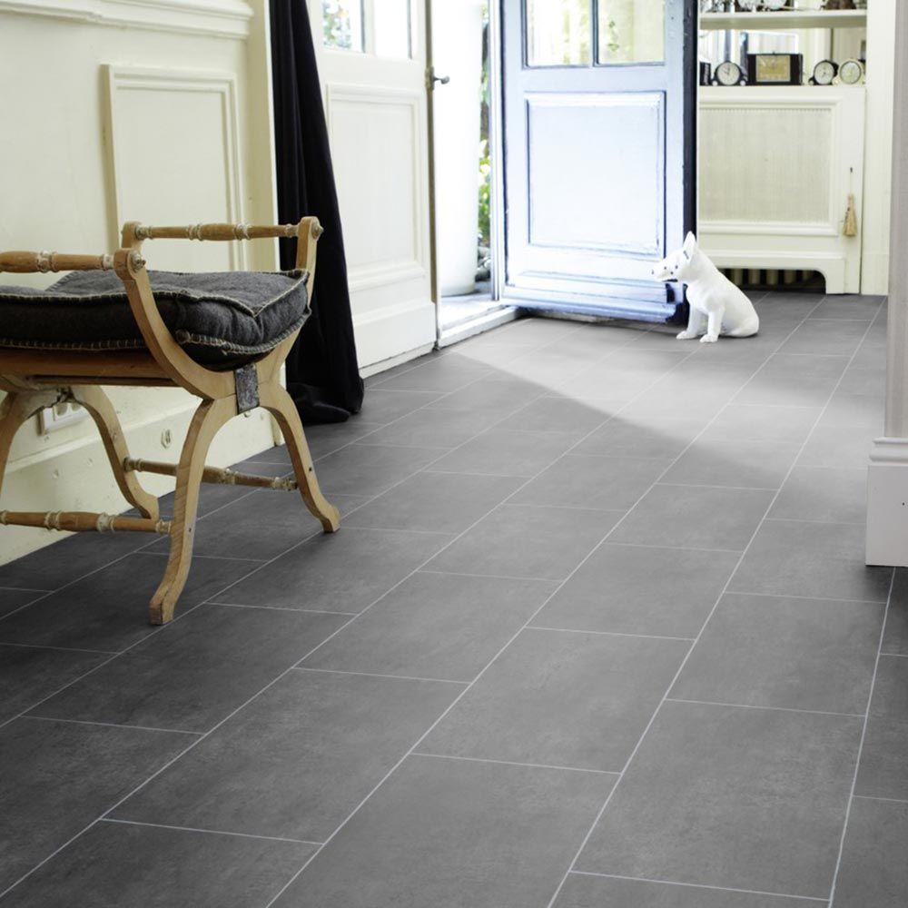 PVC Bodenbelag Tarkett Select 20  Melbourne Noir 20m Bodenbeläge