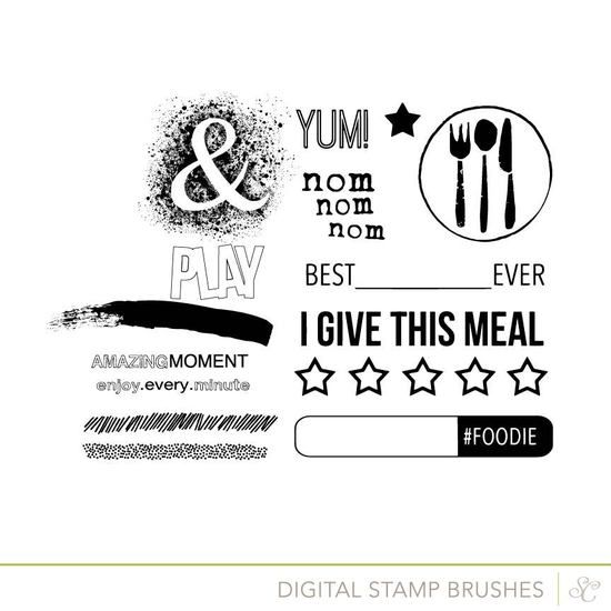 Picture of Marks & Co Digital Scrapbook Stamps