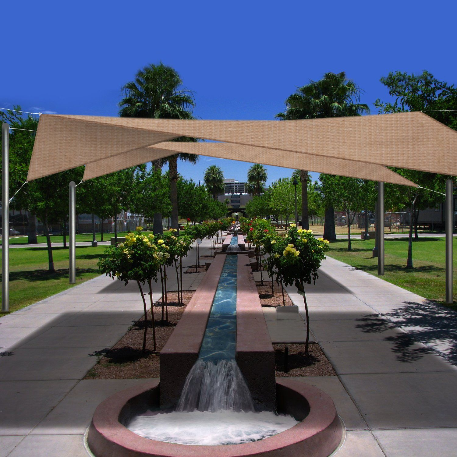 $137 22 click for updated price and info Square Sun Shade