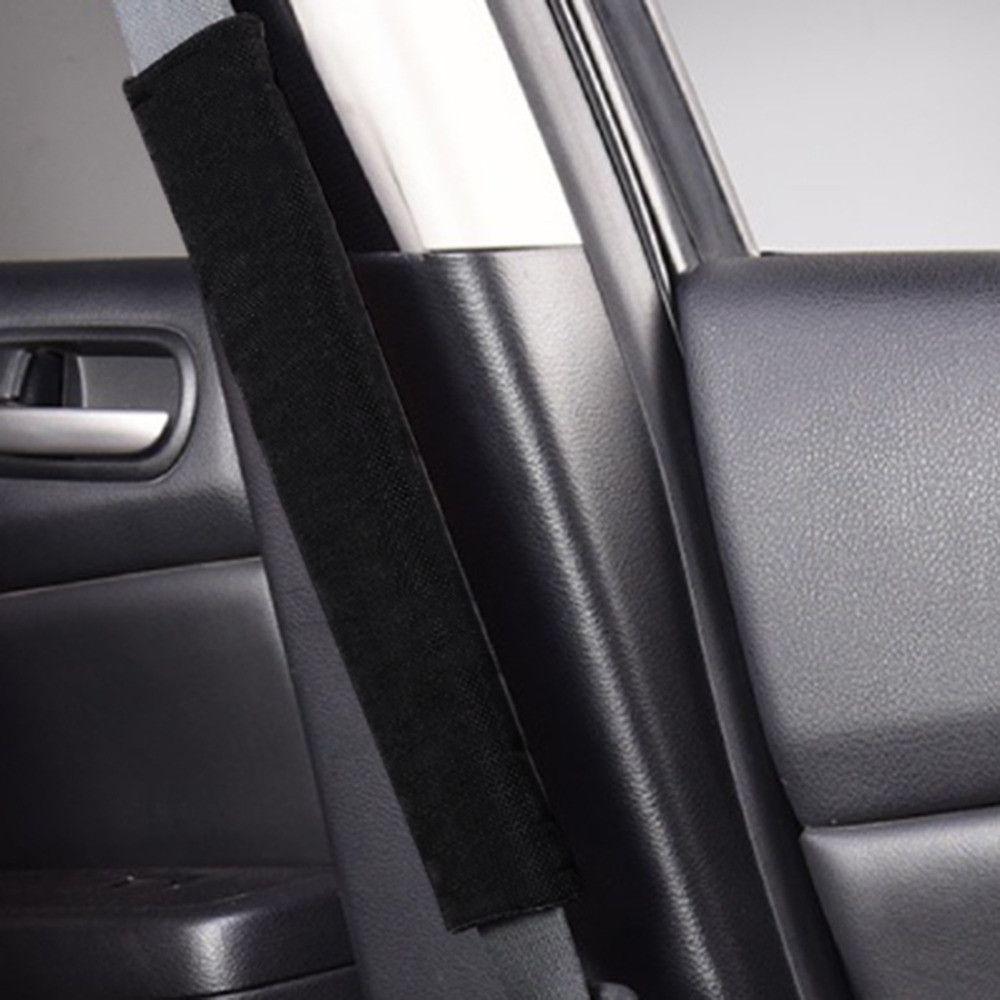 2pcs Car Safety Seat Belt Shoulder Pads Cover Soft Cushion Harness