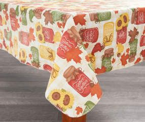 I found a Harvest Mason Jars Vinyl Tablecloths & Kitchen Linen Collection at Big Lots for less. Find more Harvest at biglots.com!