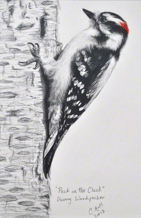 Downy Woodpecker Block Print In 2020 Linocut Prints Bird