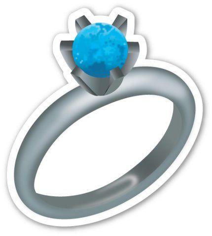 Doesn T This Stone Look More Like A Planet Than A Diamond Emoji Ring Emoji Emoji Wallpaper