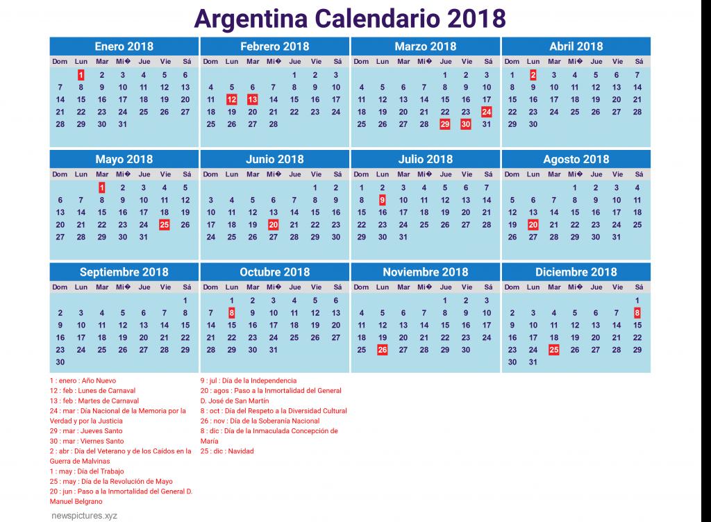 consult u00e1 el calendario de feriados 2018 de la argentina
