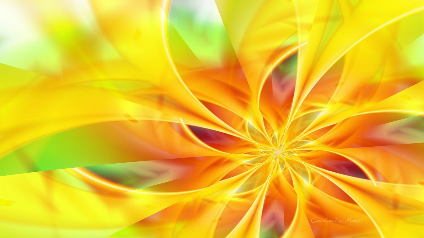 [Wallpaper Backgrounds] – Artistic Yellow-95-(Abstract)-1366 x 768 4K