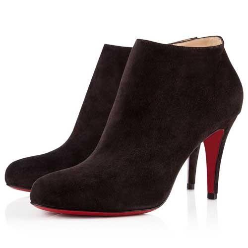 CHRISTIAN LOUBOUTIN BELLE 85MM BOTTINES NOIR 78,99 €