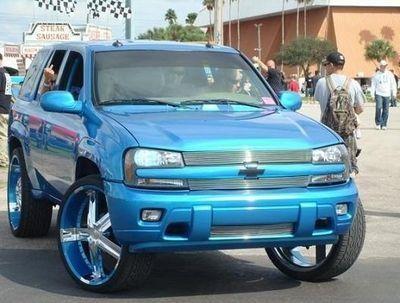Trailblazer Chevrolet Trailblazer Custom Suv Tuning Chevy