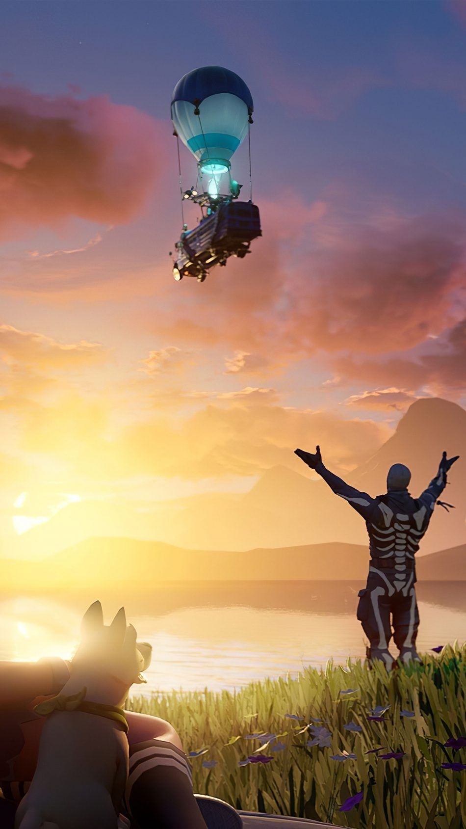 Download Fortnite Chapter 2 Free Pure 4k Ultra Hd Mobile Wallpaper