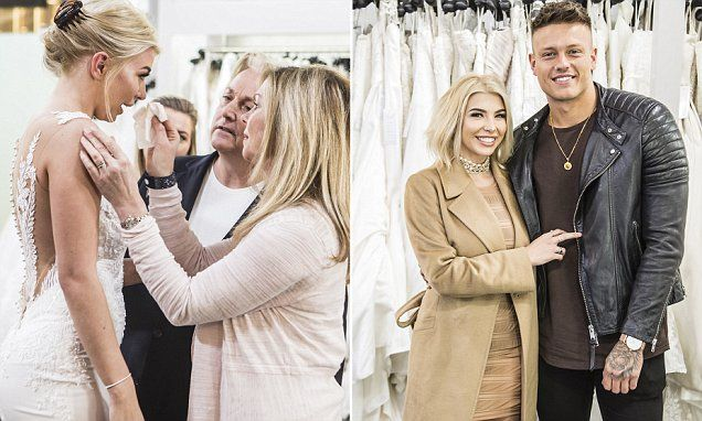 Love Island Star Cries While Hunting For A Wedding Dress With