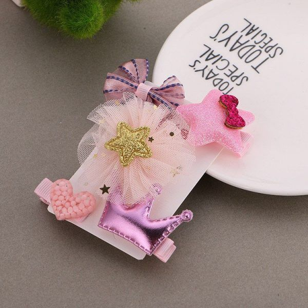 free shipping cute toddler Baby girls hair clips cartoon hairpins kids Hair Accessories 5 PCS #babyhairaccessories, #babyhairband, #babyheadband, #kidshairaccessories #babyhairclips #kidshairpins #kidshairaccessories