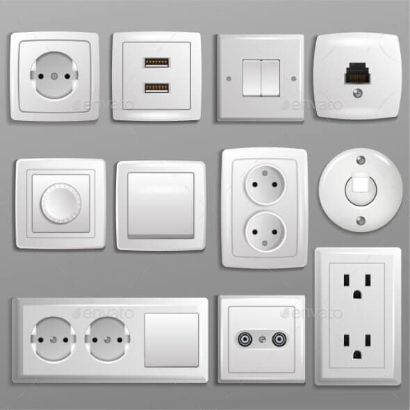 The Different Kinds Of Electrical Outlets Available In The