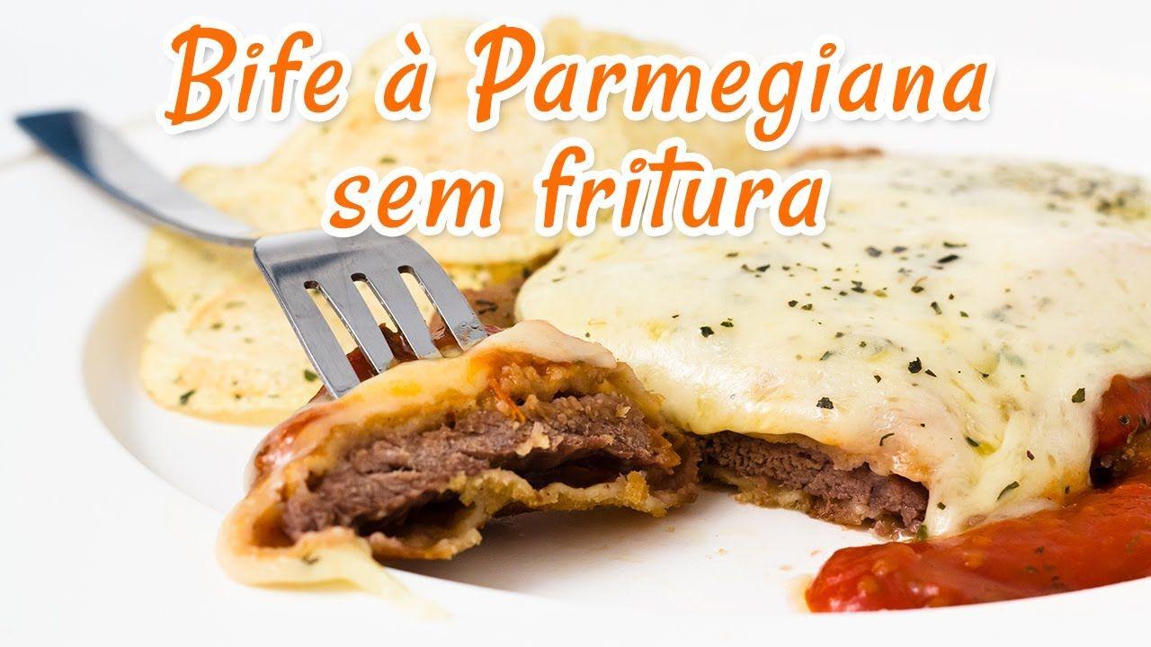 Bife a Parmegiana Sem Fritura - Receitas de Minuto EXPRESS #21