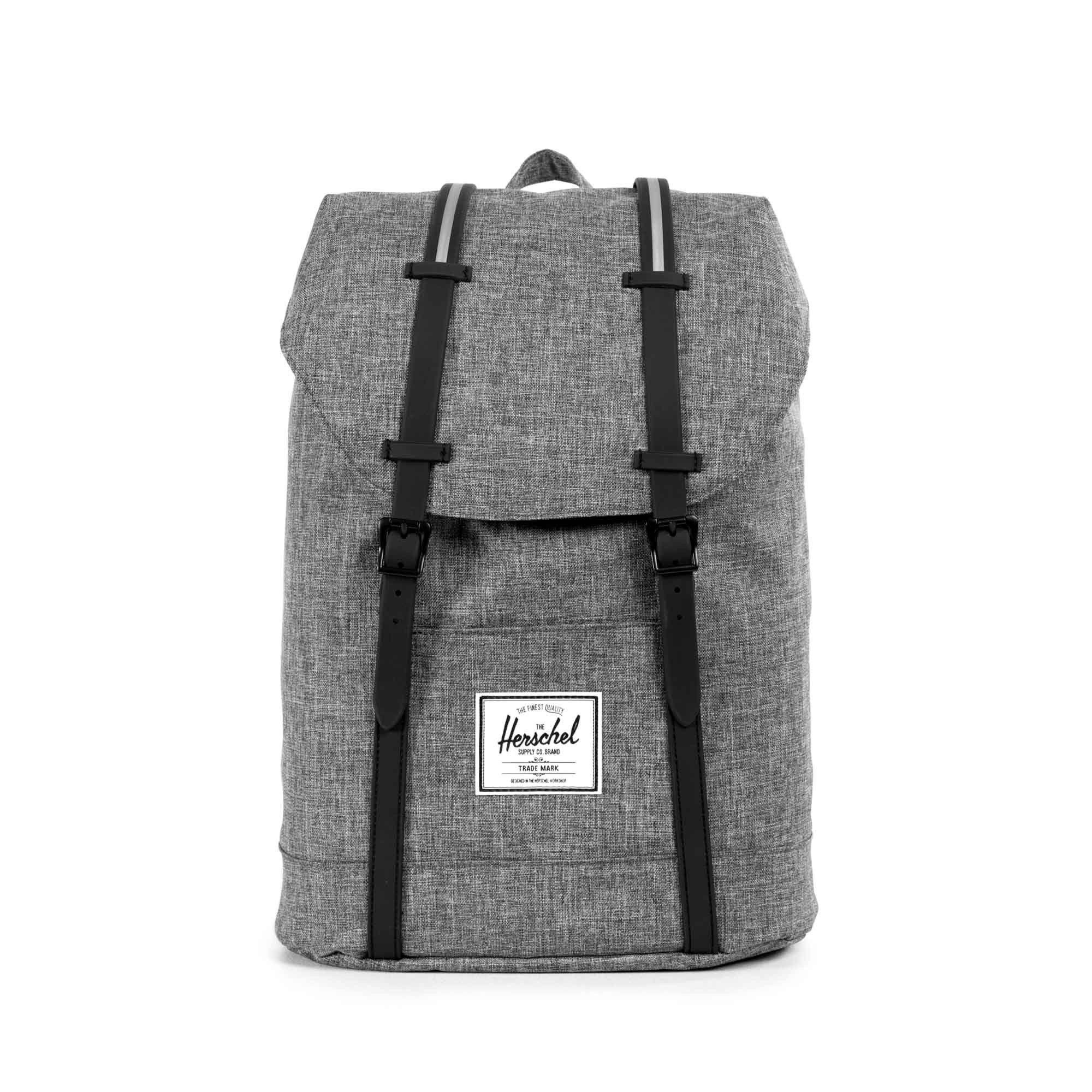 9e972d2f344 Retreat Backpack   Herschel Supply Co USA Laptop Rugzak, Herschel Rugzak,  Gray, Handtassen