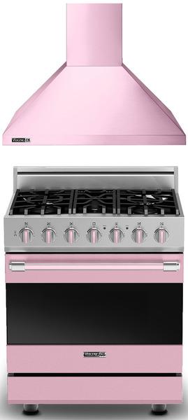 Ge Artistry Kitchen How To Adjust Cupboard Hinges 粉紅色的瓦斯爐 粉紅色的抽油煙機 Viking限量版的粉紅色廚具 將廚房 將廚房空間變清爽甜美了