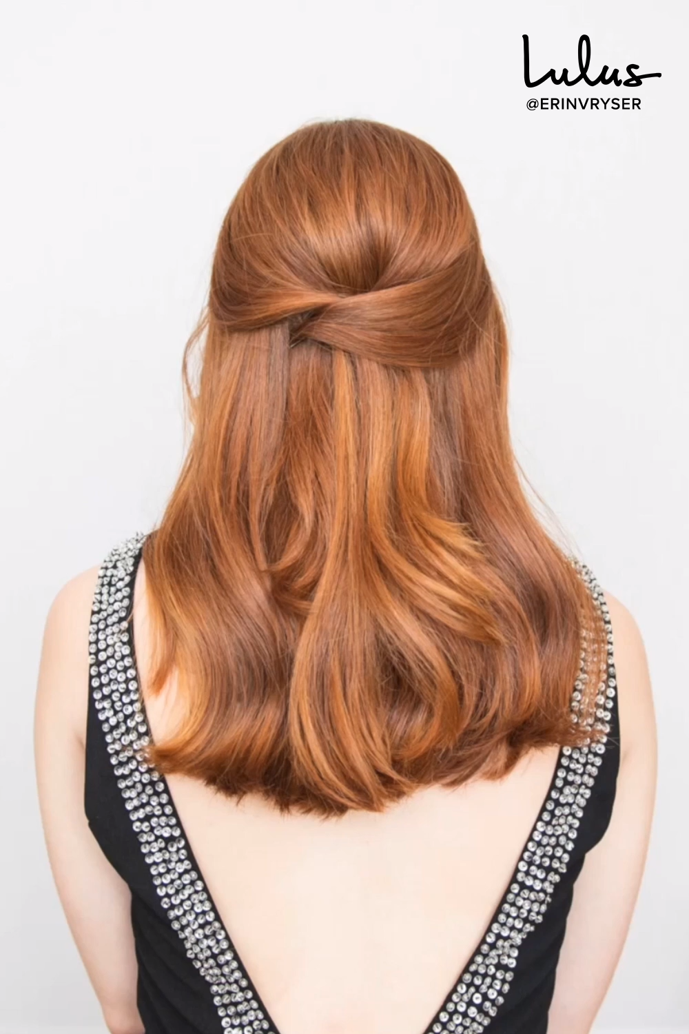 Hair How-To: This Criss-Cross Half-Up Hairstyle is Your Party Season Secret Weapon -   16 hair Half Up Half Down how to do ideas