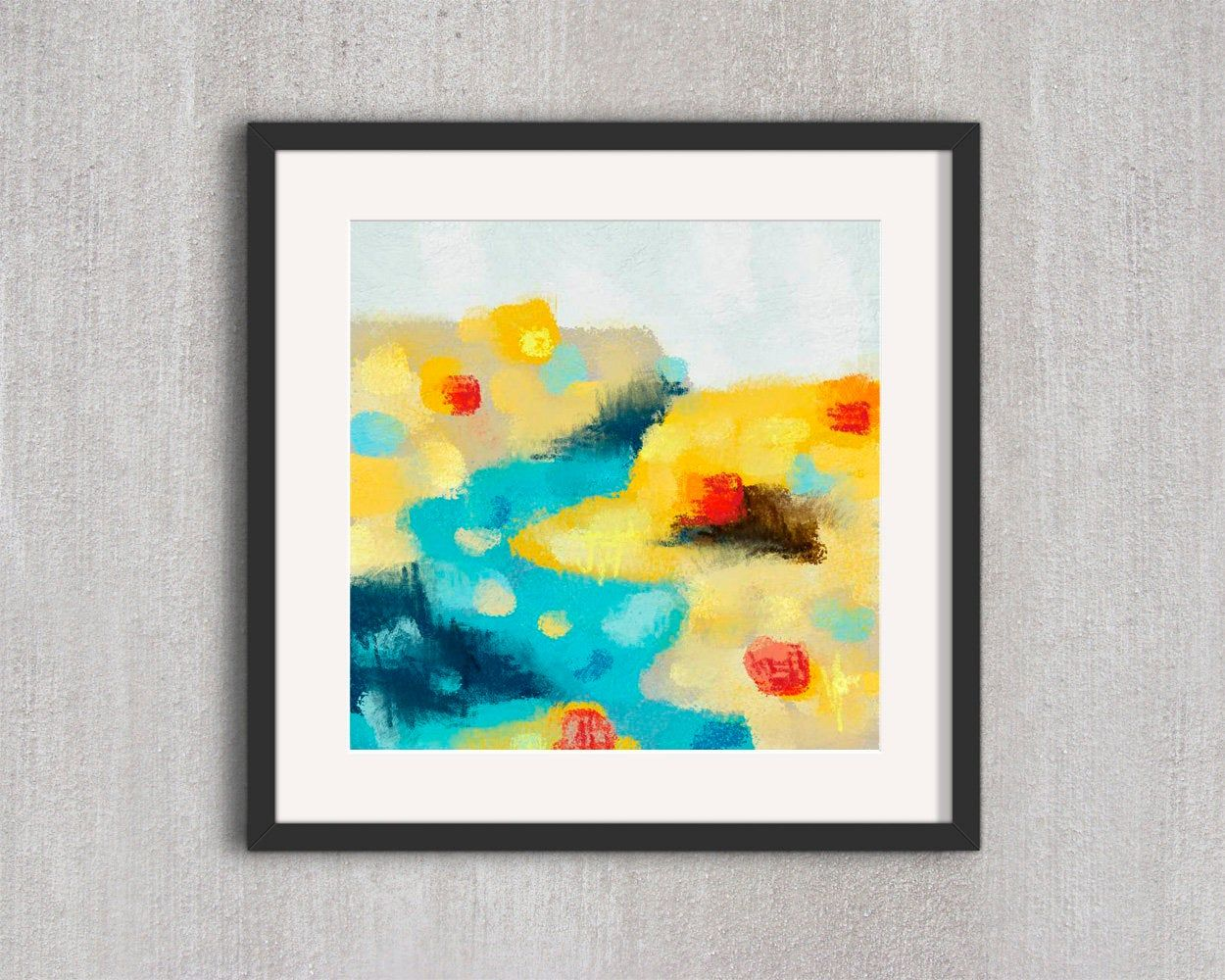 Abstract Landscape Printable Abstract Art Abstract Wall Art Downloadable Wall Art Abstract Art Print Abstract Home Decor In 2020 Abstract Wall Art Abstract Abstract Landscape