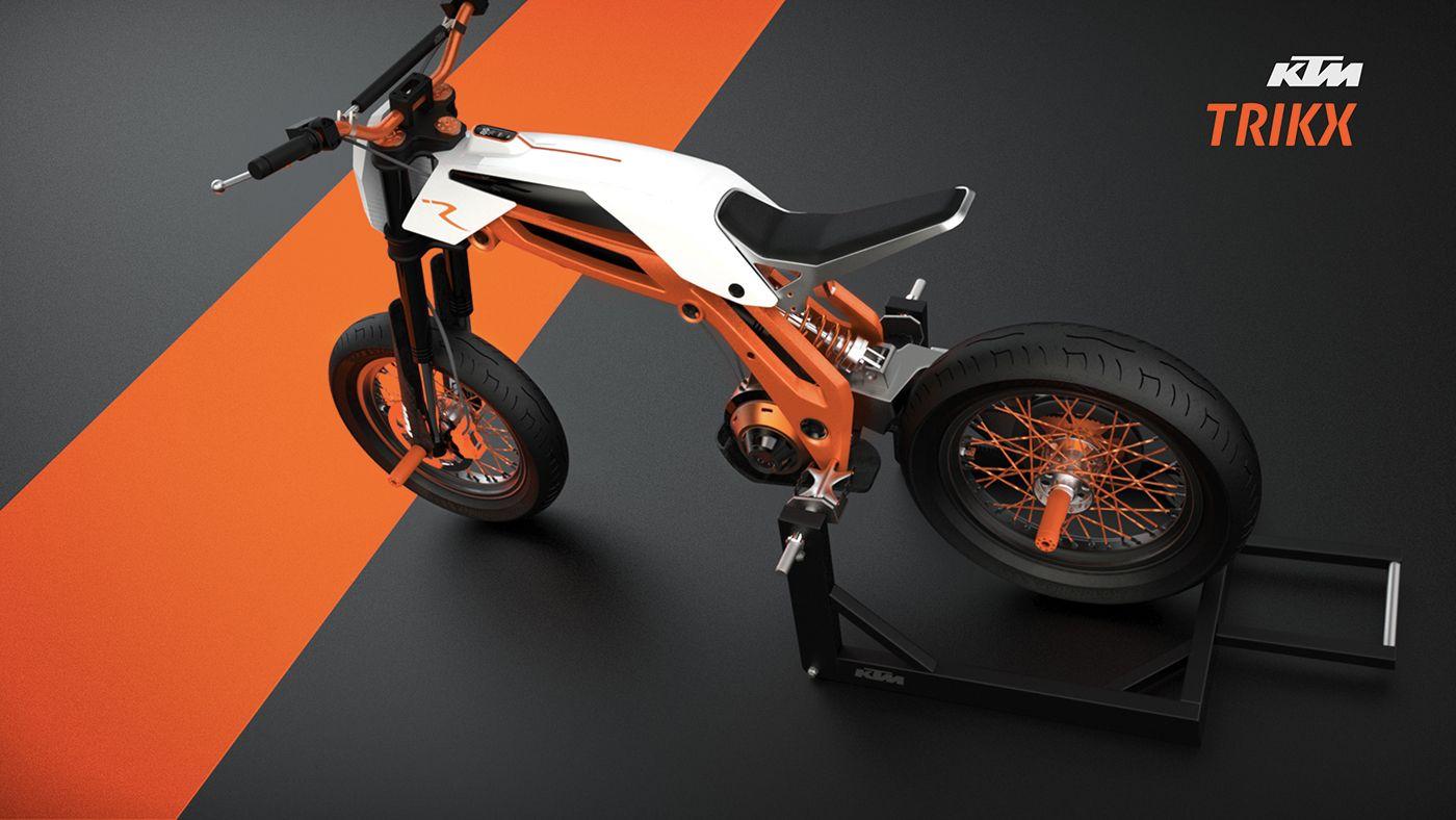 Ktm Trikx For 2020 On Behance New Electric Bike Leisure Bike Ktm