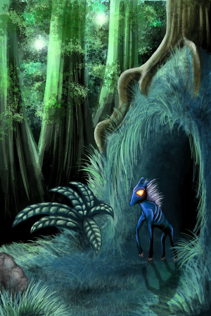 Forest Shelter by lk-Gaia