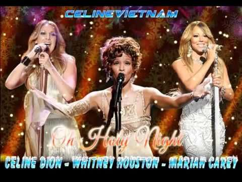 Pin By Happy Pinner 2 On For Whitney The Voice Christmas Music Videos Celine Dion Whitney Houston