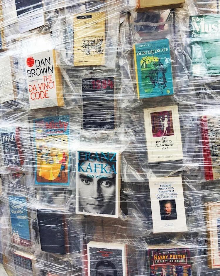 Artist Creates Replica of Parthenon from 100,000 Banned Books | Parthenon, Banned  books, Book burning