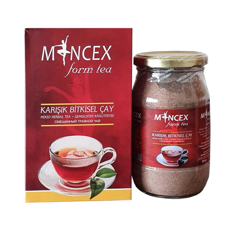 تركيبة منجيكس للتنحيف من 5 إلى 12 كغ خلال شهر شاي التخسيس التركي تركيبة نباتية مطورة عبوة300غرام