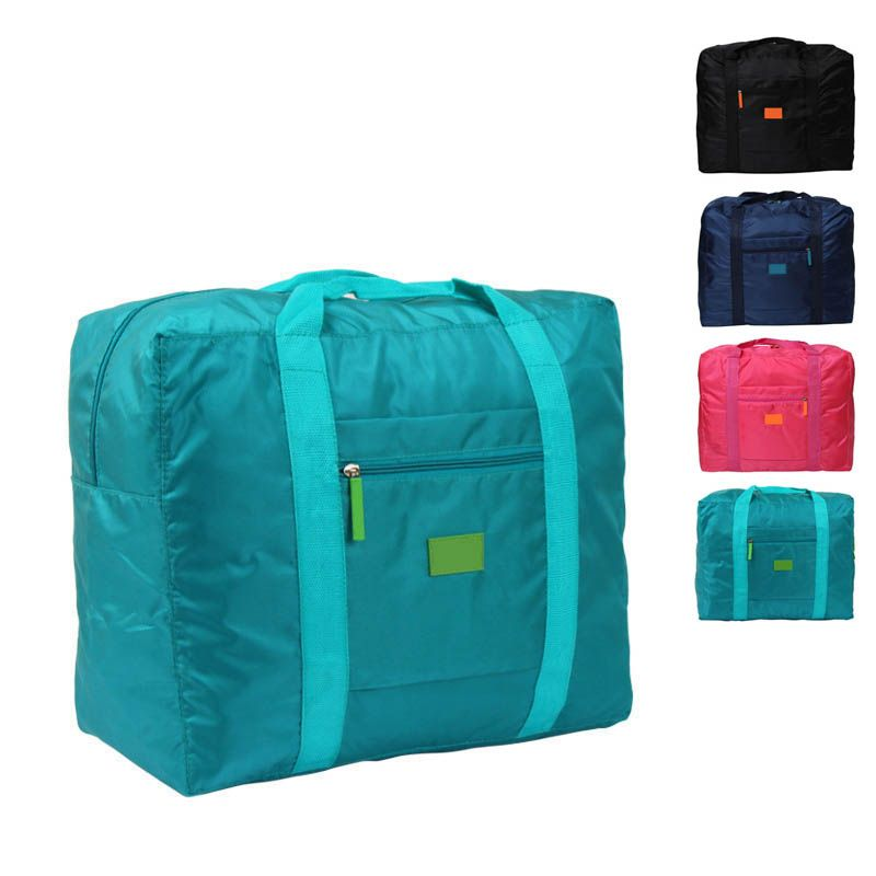 New Waterproof Nylon Folding Foldable Home Travel Package Men Women ... 812fbc8d9e7f6