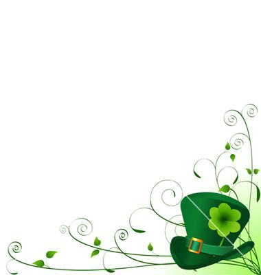 St Patrick S Day Background Vector Art Download Freshness Vectors 140149 St Patricks Day Borders For Paper Downloadable Art