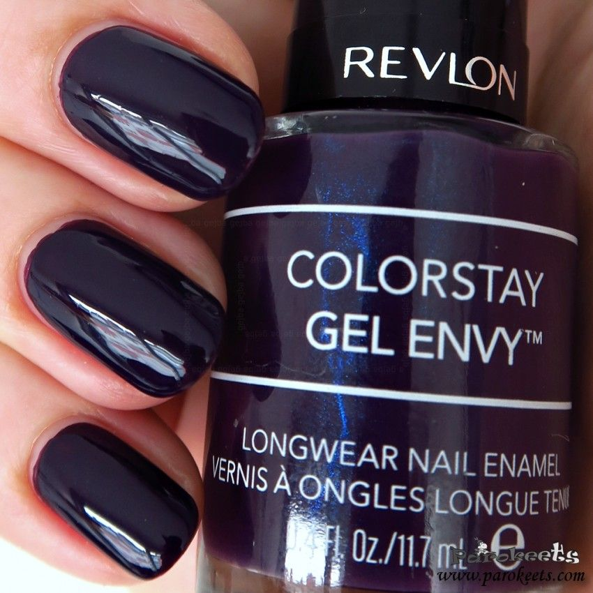 Revlon 450 High Roller Nail Polish Swatch Colorstay Gel Envy