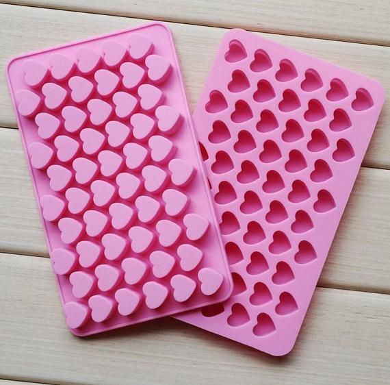 Love Heart Silicone Ice Cube Mold Tray Mould Chocolate Gummy Maker Jelly MoldLE