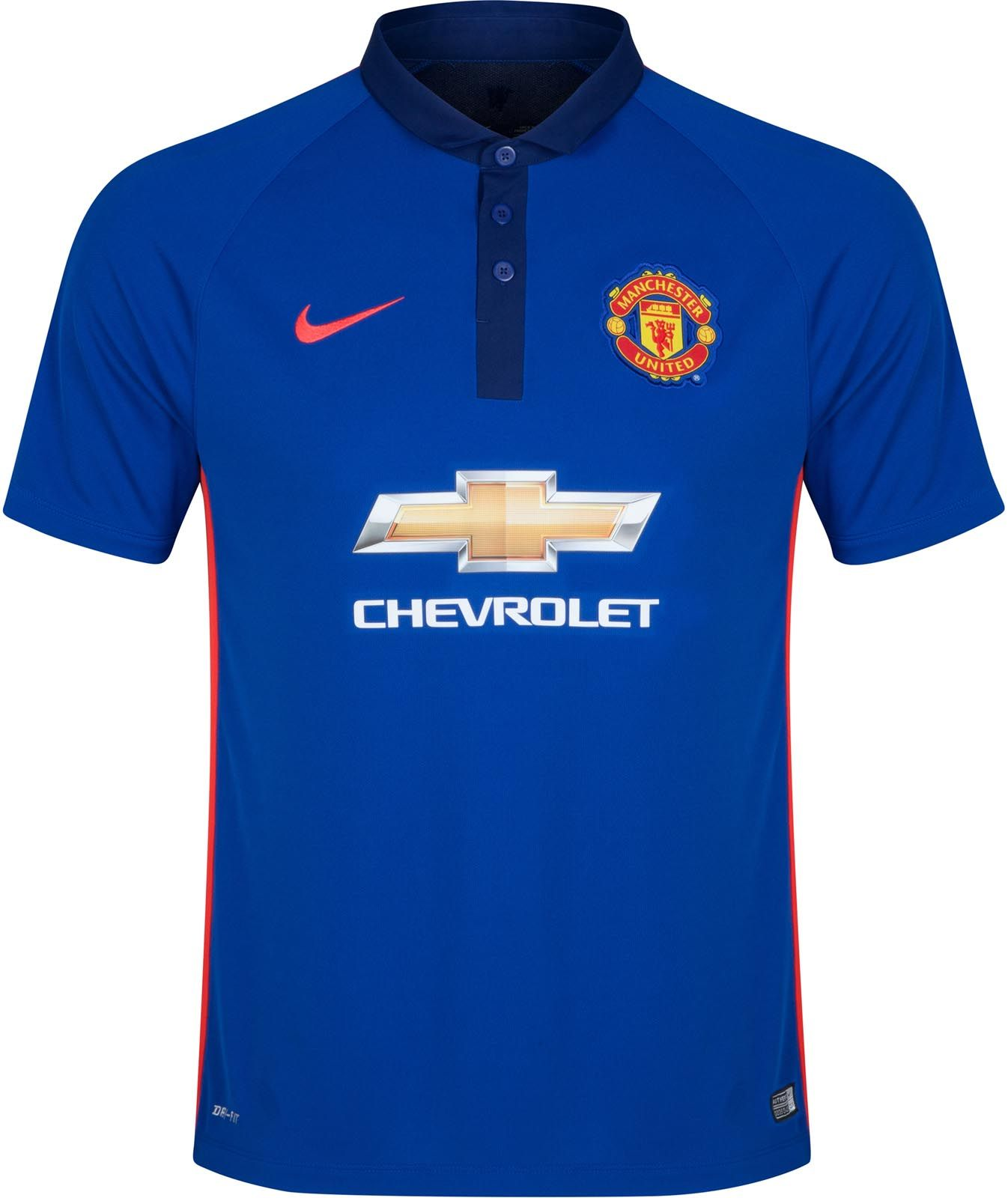 New Manchester United Kits! The new Chevrolet Man Utd Home Kit features a  classical and unique kit collar, while the Manchester United Away kit is  white ...
