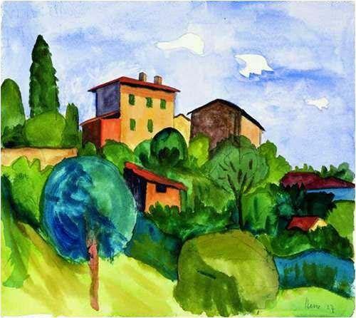 10 Frases E 10 Pinturas De Hermann Hesse Landscape Art Painting