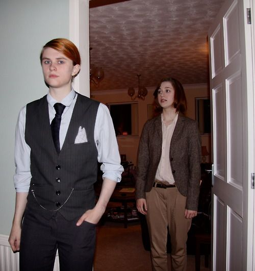Hannibal and Clarice cosplay