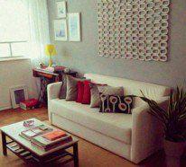 Wandgestaltung Wohnzimmer - 20 kreative Wanddeko Ideen ...