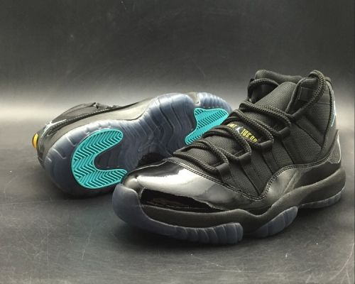 Original Air Jordan 11 Retro Gamma Blue Black Gamma Blue-Varsity Maize -  Mysecretshoes 9ac1599b7