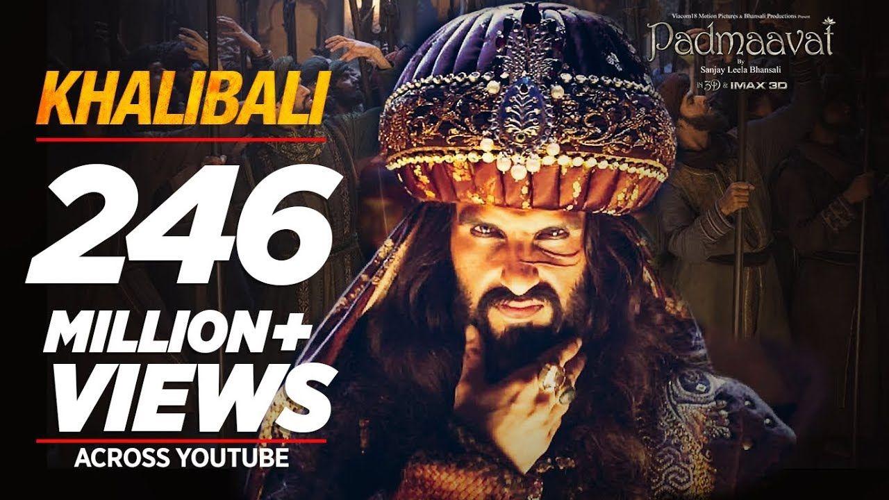 Padmaavat Khalibali Ranveer Singh Deepika Padukone