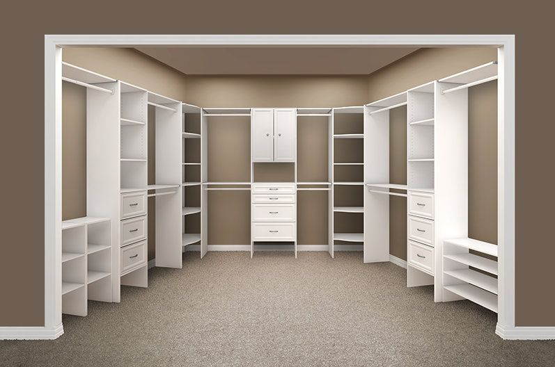 Home Depot Closet Made 2 From Left Wall And 3 53 4 Master