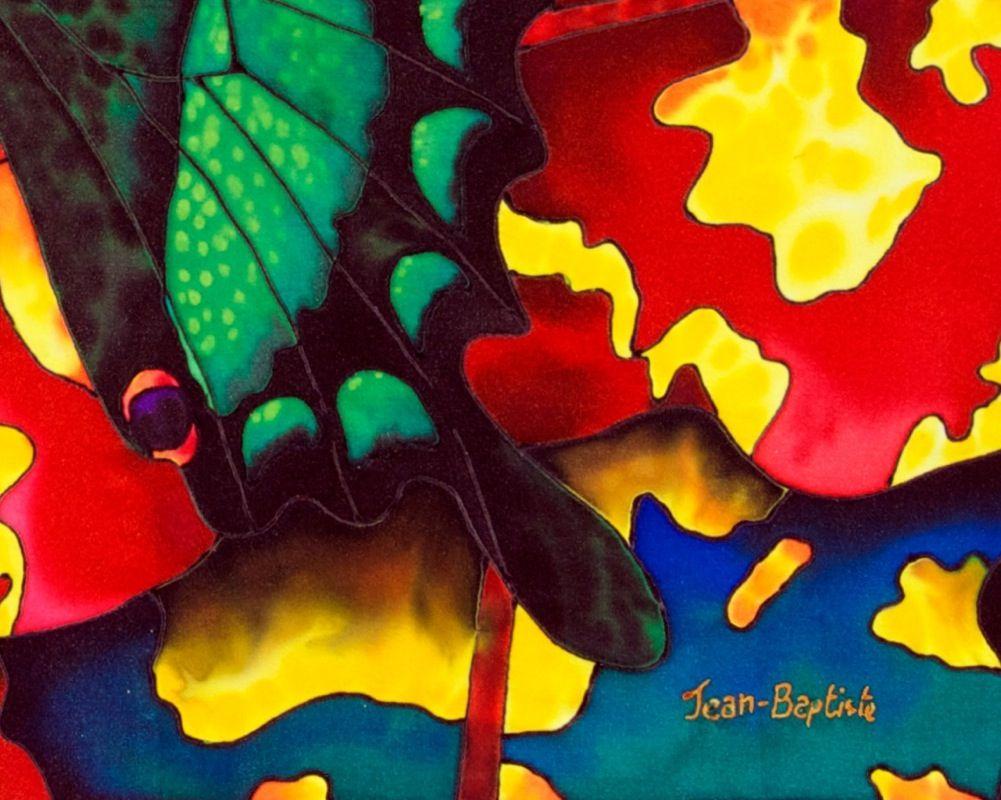 jean baptiste pintura en seda - Buscar con Google
