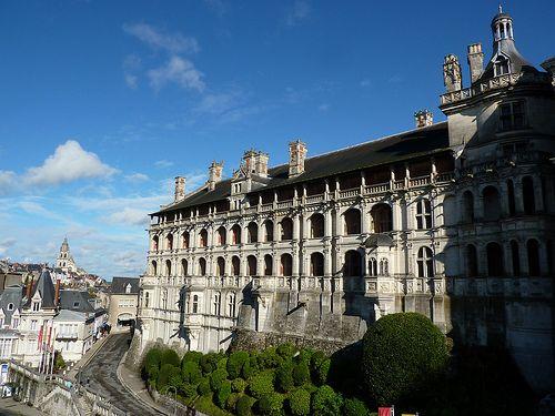 Chateau de Blois exterior view