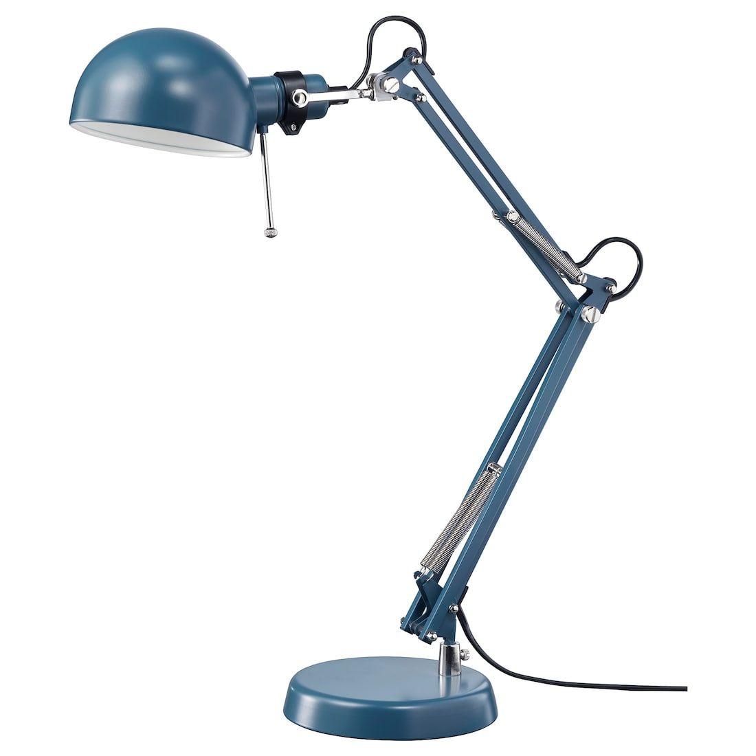 Forsa Bureaulamp Blauw Ikea Bureaulamp Ikea Lichtarmaturen