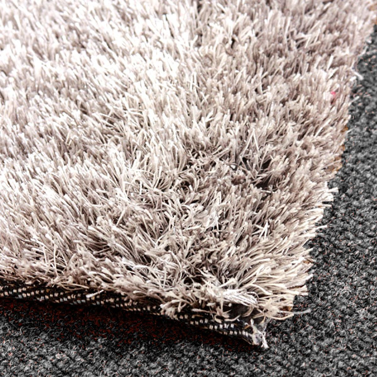 Grey Rug Is A Sleek And Soft Textile