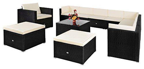 Rattan Garden Furniture Set Sofa Lounge - Outdoor Furniture 7