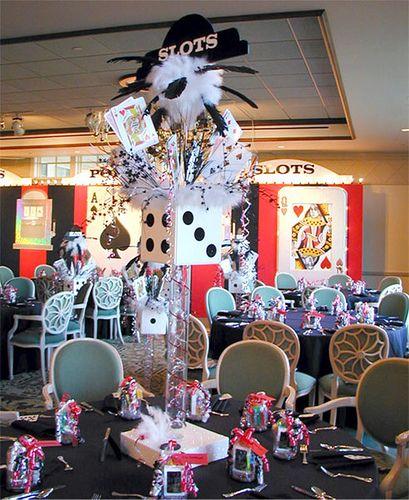 best 25  casino themed centerpieces ideas on pinterest