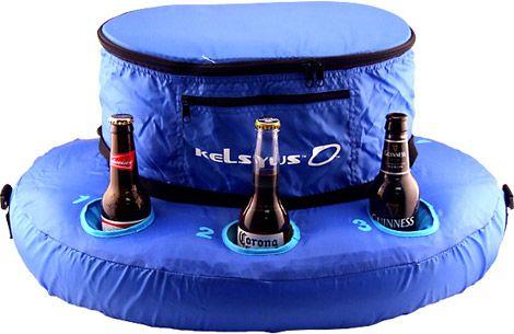 Yamaha Boat//PWC Floating Inflatable Cooler Pool Drink Holder MAR-FLTCL-ER-06