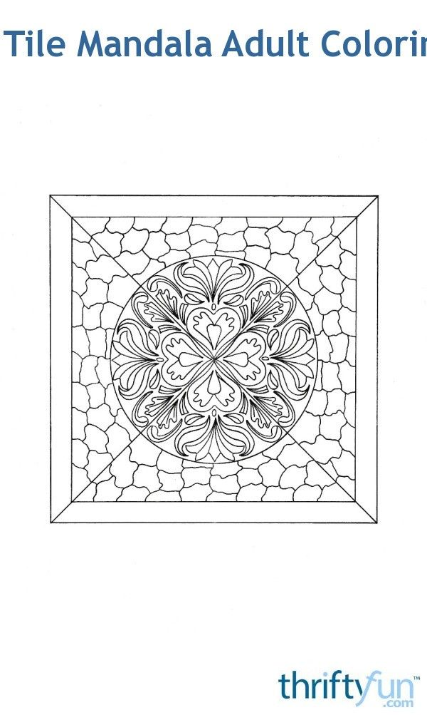 this free mandala was inspired by a vintage mosaic tile and should offer a few